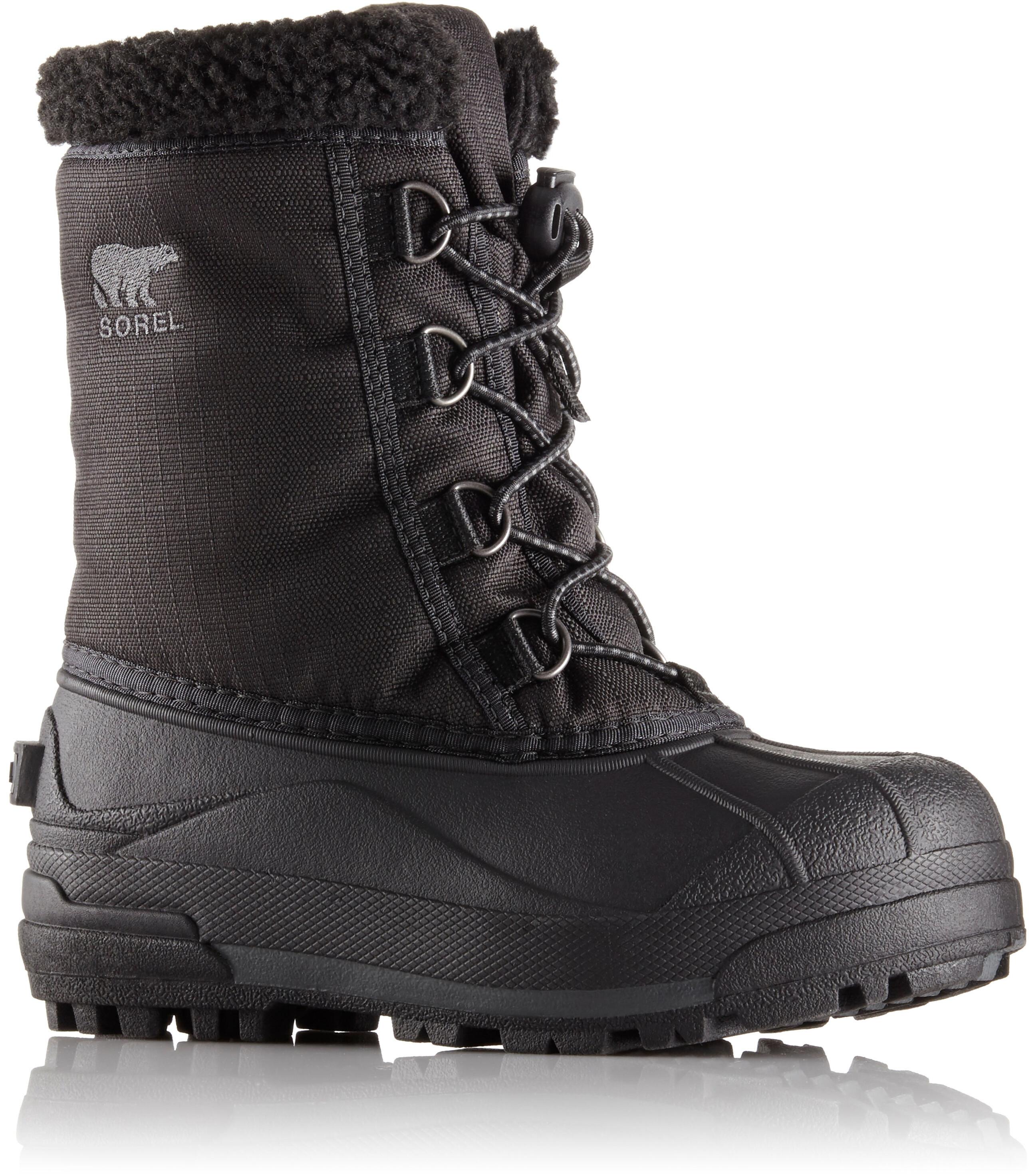 b8caee04 Sorel Cumberland Støvler Børn, black | Find outdoortøj, sko & udstyr ...